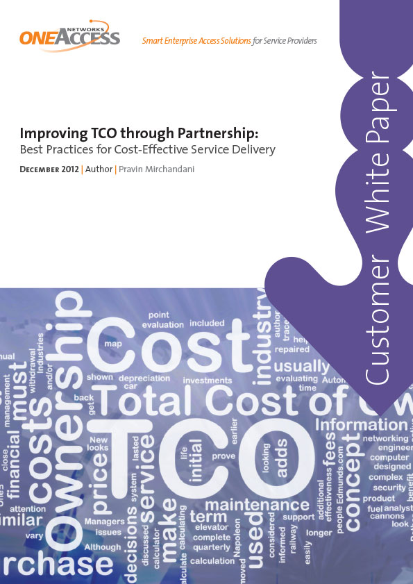 TCO Savings through Partnership